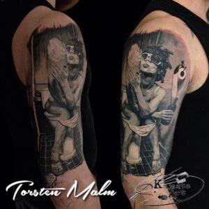 Musta-halliga realism: Torsten Malm