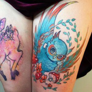 Tattoo kolm aastat pärast tegemist