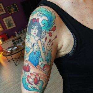 Tattoo 3 aastat pärast tegemist
