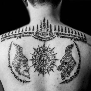 The higher the tattoo, the more power it holds.