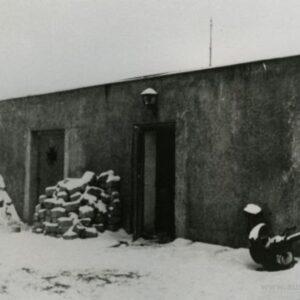 Foto tehtud pärast sõda. Korsten ja uks rekonstrueeriti.