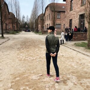 Auschwitz I camp.