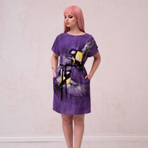Estonian design - dress with tits